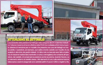 LA P240 AXE SMART DI PALFINGER SI PRESENTA COME COMPATTA D'ECCELLENZA