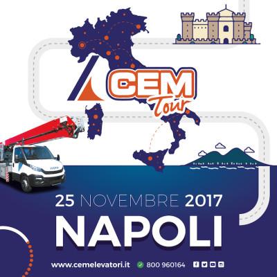 A Napoli la seconda tappa del CEM Tour