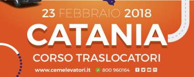 A Catania il Corso Operatori Addetti alla Movimentazione di Scale per Traslochi - CEM Tour 23 Febbraio