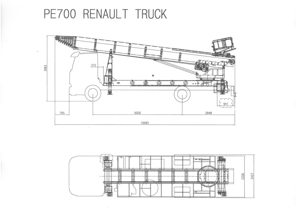 disegno PE700 su Renault