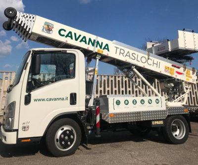 Cavanna sceglie una nuova autoscala PAUS 33 metri Hybrid